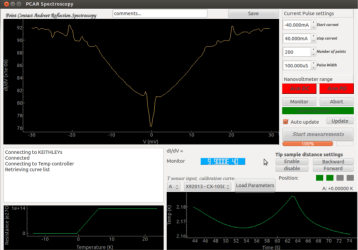 PCAR GUI screenshot