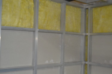 glass wool acoustic isolation