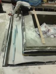 quartz sand vibration isolation levelling