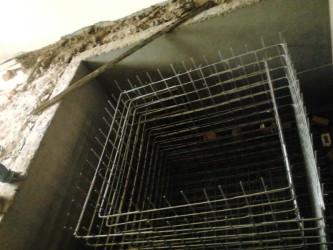 vibration isolation pit framework